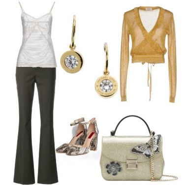 Outfit La decolltè animalier