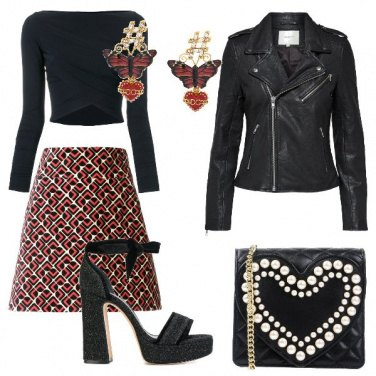 Outfit Biker e gonna