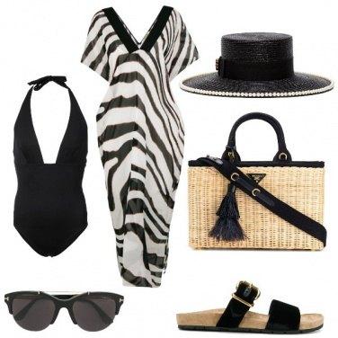 Outfit Il costume nero