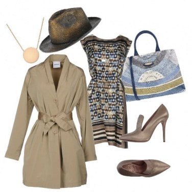 Outfit Toh! Piove...