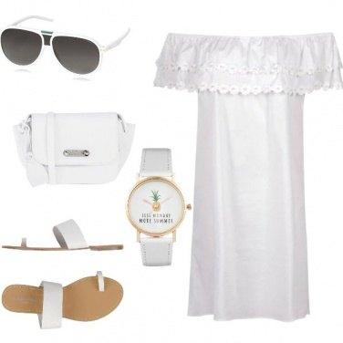 Outfit Aperitivo a Santorini