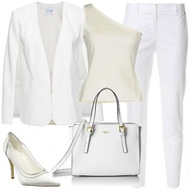 Outfit White chic