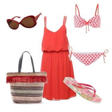Outfit In spiaggia con le infradito