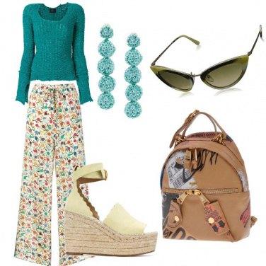 Outfit Pantalone multicolour