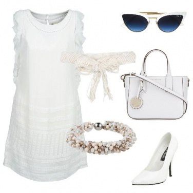 Outfit Signora in bianco