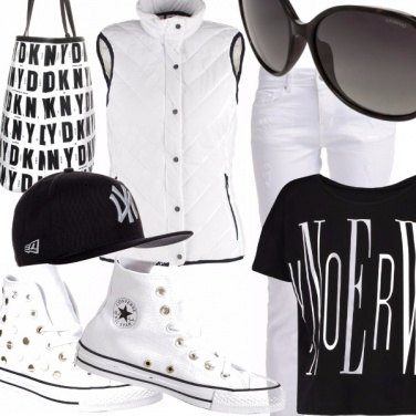 Outfit Outfit Total white