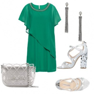 Outfit L\'abito verde
