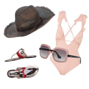 Outfit Spiaggia Glam