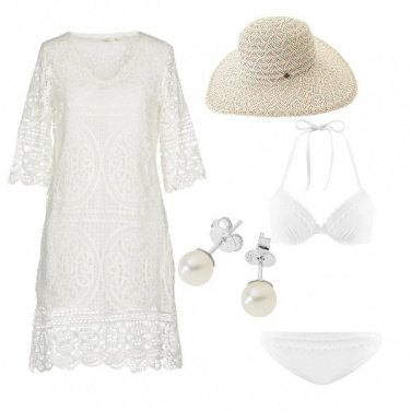 Outfit Sposa low cost in spiaggia