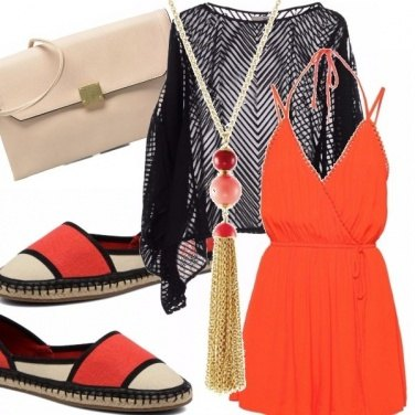 Outfit Rompers & espadrillas