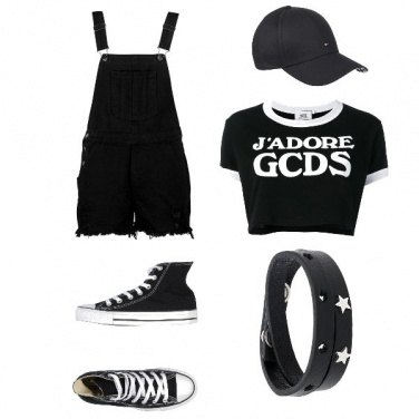 Outfit Sporty Black