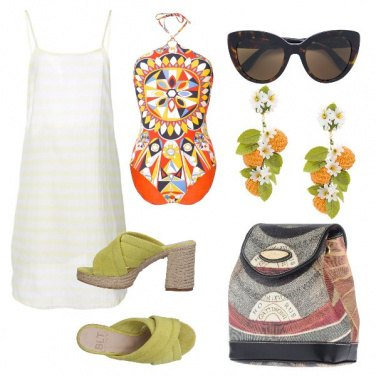 Outfit Pop art nel costume