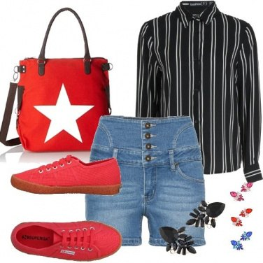Outfit Righe