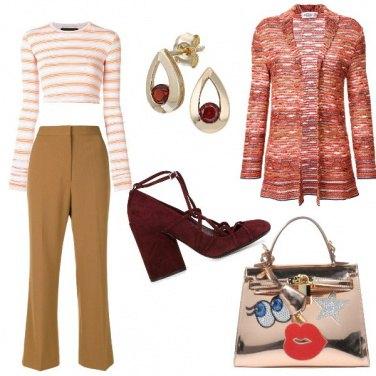 Outfit La decolltè con i lacci