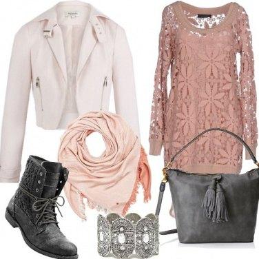 Outfit Rock e romantico