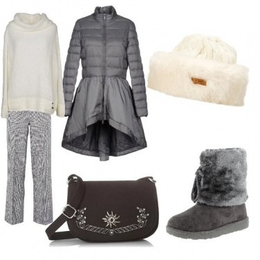 Outfit A spasso per Cortina