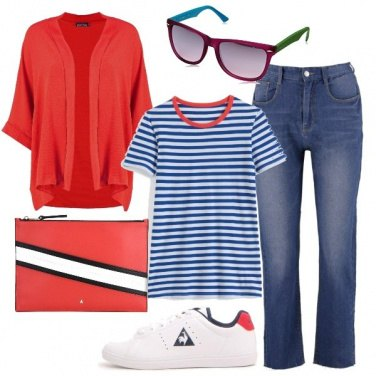 Outfit La giacca rossa