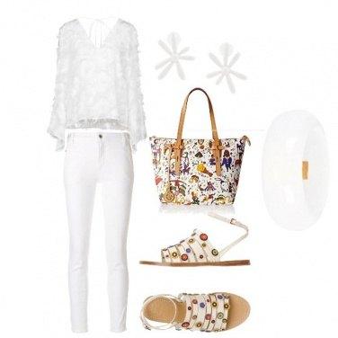 Outfit Bianco abbagliante