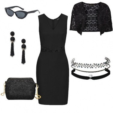 Outfit Total black low cost