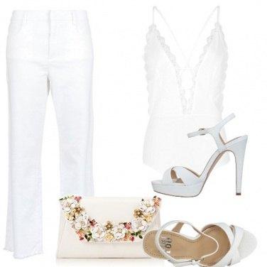 Outfit Bianco di sera