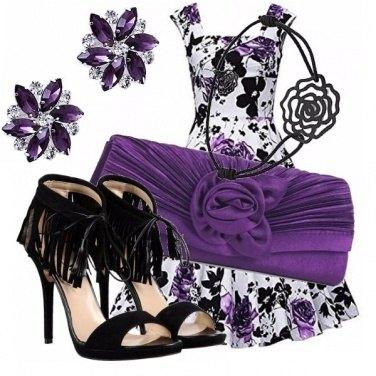 Outfit Fiorato noir