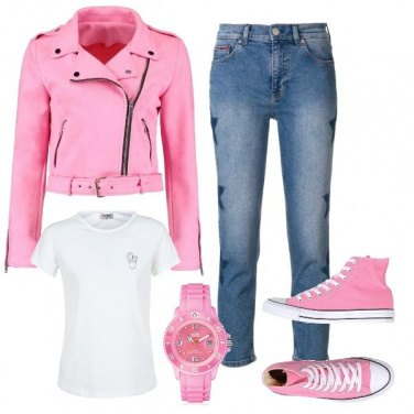 Outfit Pretty in pink