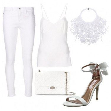 Outfit White passion