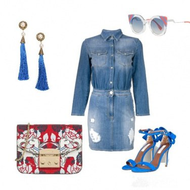 Outfit Denim chic