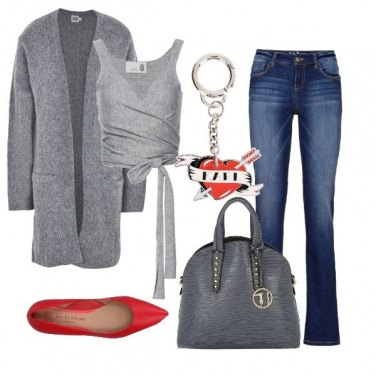 Outfit Grigio chic