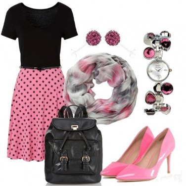 Outfit Vintage pink