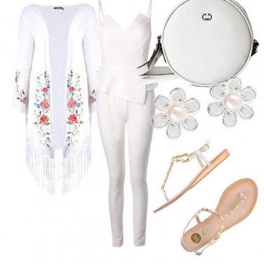 Outfit Bianco e lieve