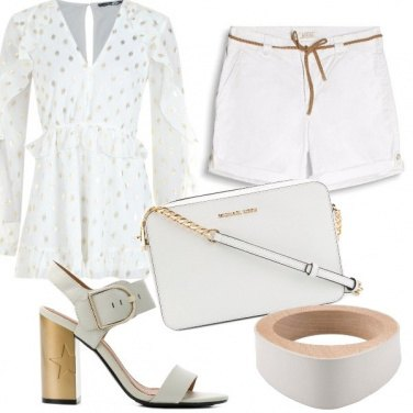 Outfit Bianco caldo