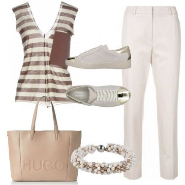 Outfit Con le righe