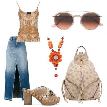 Outfit Zoccoli alla moda