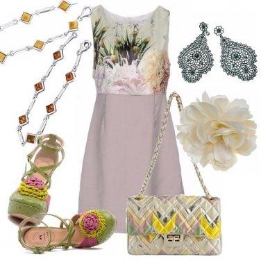 Outfit Curvy en fleurs