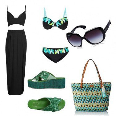 Outfit Diva in riva al mare