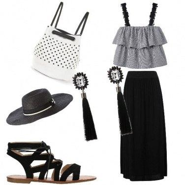 Outfit Gitana b&w