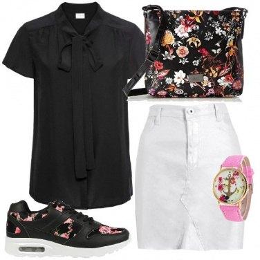 Outfit Casual con orologio
