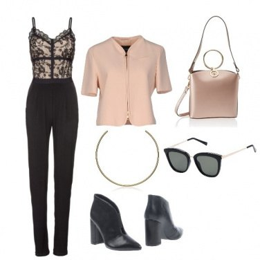 Outfit Tuta superchic