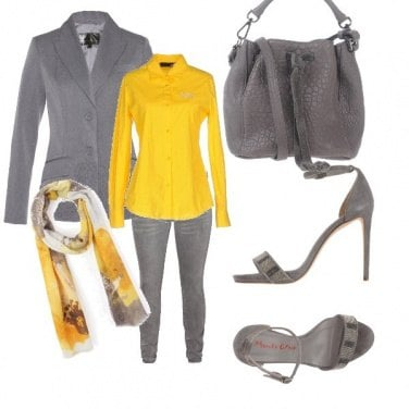 Outfit Greyftyellow