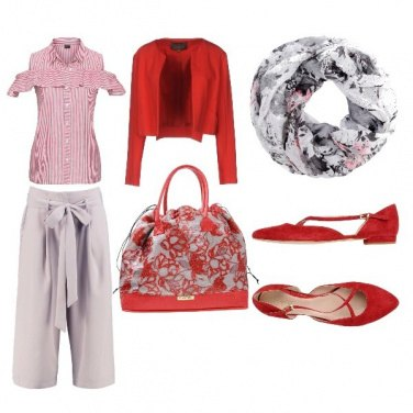 Outfit Rosso allegria