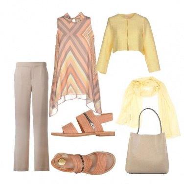 Outfit Gita elegante
