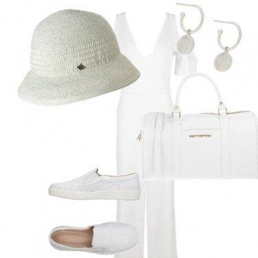 Outfit In viaggio con la tuta