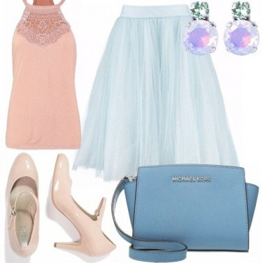 Outfit Tulle come una ballerina