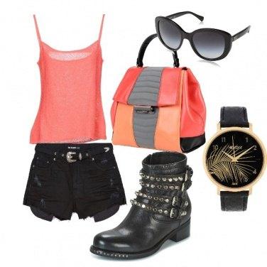 Outfit Un po' rockstar