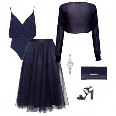 Outfit Serata in blu