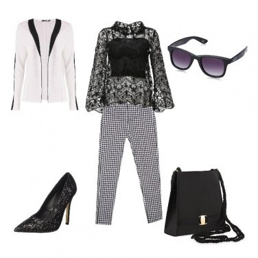 Outfit Black and White passion