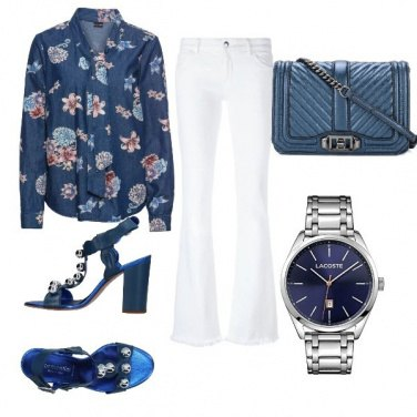 Outfit Blue trendy