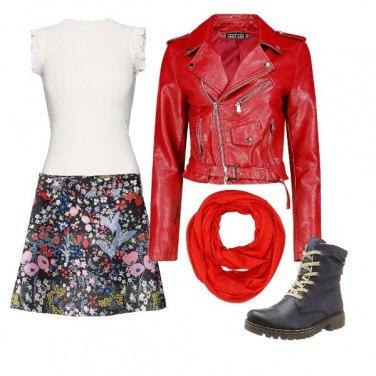 Outfit Romantic biker
