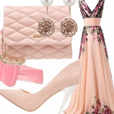 Outfit Principessa in rosa